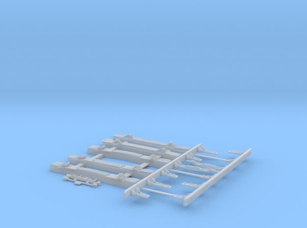 Piéces Plastiques pour Kit Peco code 124 in Smooth Fine Detail Plastic