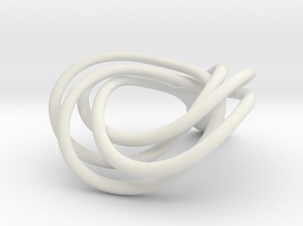 JNamo Pendant in White Natural Versatile Plastic