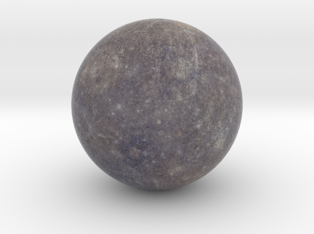 Mercury 1:150 million in Natural Full Color Sandstone