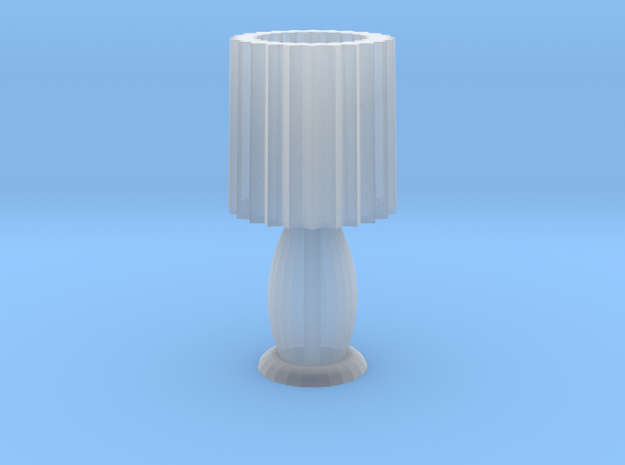 HO scale table lamp