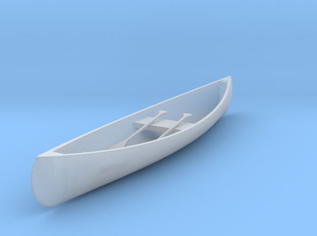 S Scale Canoe