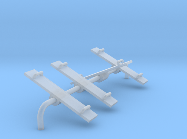 Playground Teeter Toter - N 160:1 Scale