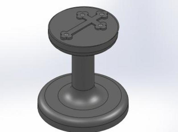 Cross Wax Seal 3d printed
