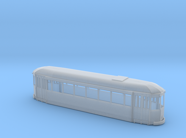 HO scale Lille ELRT body original in Smooth Fine Detail Plastic: 1:87 - HO