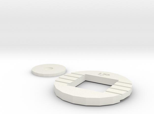 XTB - MM-IX Klaatu - Base Light adapter in White Natural Versatile Plastic