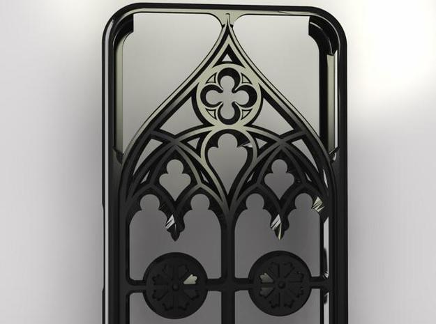 iPhon 4/4s case Gothic style 3d printed