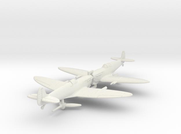 1/200 Spitfire MkVC Tropical in White Natural Versatile Plastic