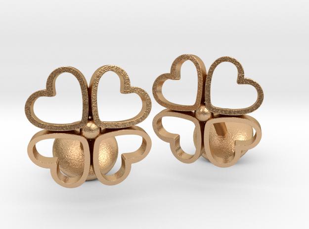 Floral Heart Cufflinks