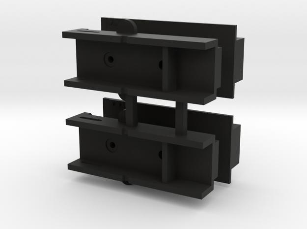 Lionel 65' Mill Gondola Kadee Coupler Pocket in Black Natural Versatile Plastic