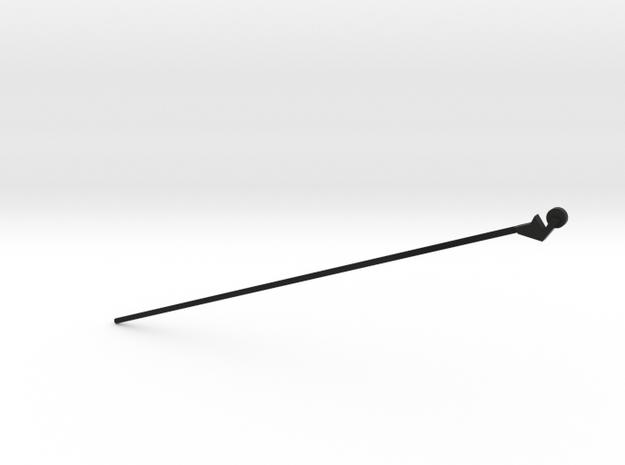 Blackpool Lancaster Trolley Pole OO Scale  in Black Natural Versatile Plastic: 1:76 - OO