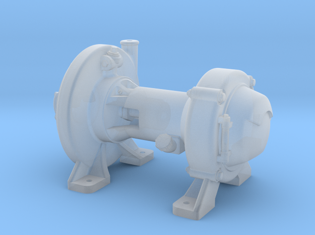 """1:16 Scale Pyle Type """"E"""" Steam Turbo Generator in Smooth Fine Detail Plastic"""