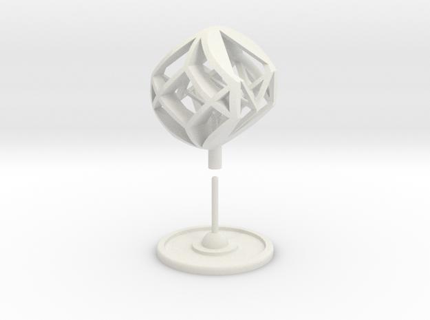 Cubosfera - Guido Moretti in White Premium Versatile Plastic