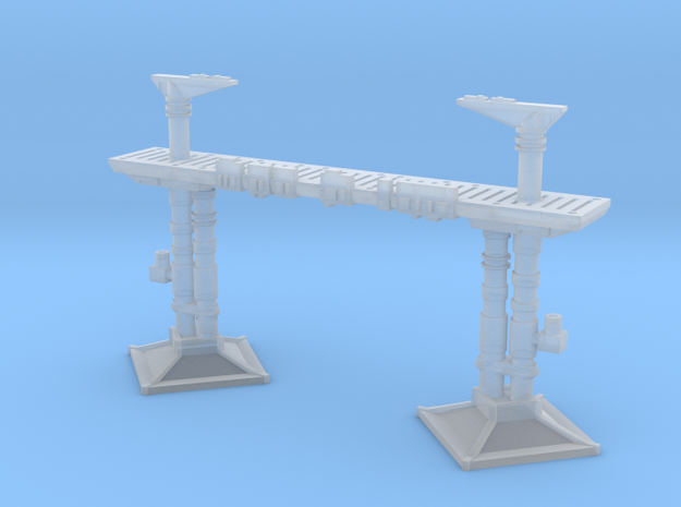 Docking Bay 327 gantry, no railings, 1:350 in Smoothest Fine Detail Plastic