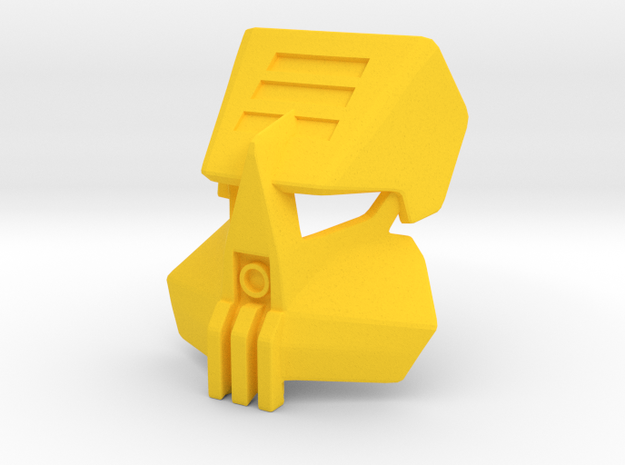 Noble Kualsi in Yellow Processed Versatile Plastic