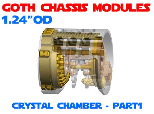 GCM124-CC-01-2 - Crystal Chamber Part2 - Brass1
