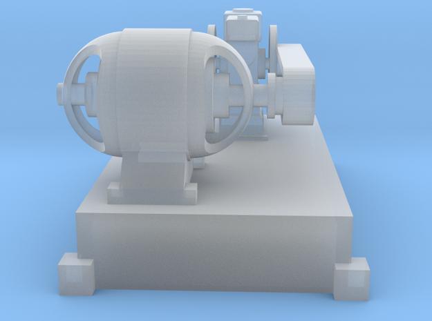 Motor-Generator-Satz (V6) mit Transmission TT 1:12 in Smooth Fine Detail Plastic