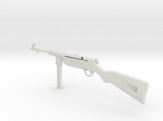 1/4th scale MP41      DDのMP41 in White Natural Versatile Plastic