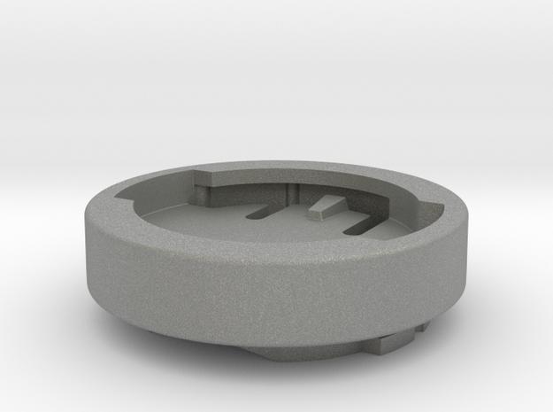 Wahoo Garmin Edge / Forerunner Mount Adapter in Gray Professional Plastic: Medium