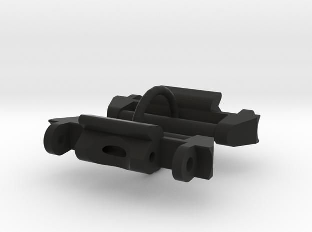 MudMaster GWG1000 NATO adapter v2 in Black Natural Versatile Plastic