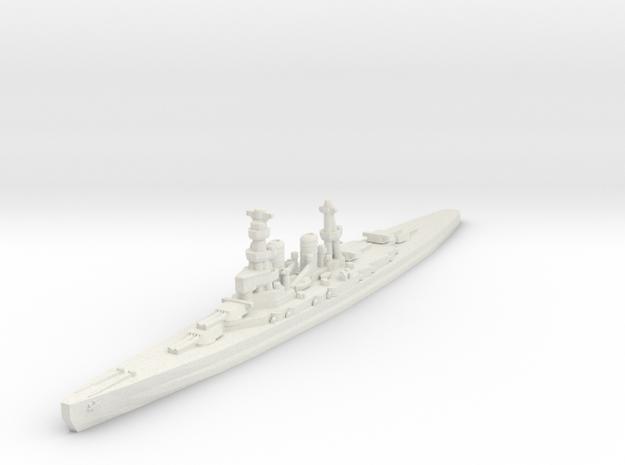 Amagi battlecruiser (1920s) 1/1800 in White Natural Versatile Plastic