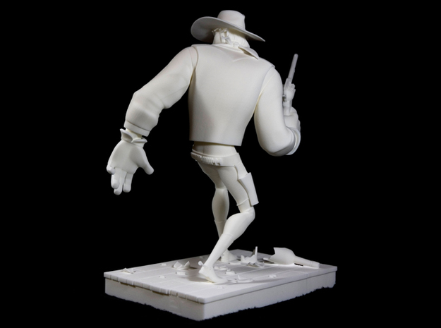 The Gunfighter (Large) 3d printed Turntable shot