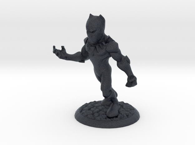 T'CHALLA THE BLACK PANTHER in Black Professional Plastic