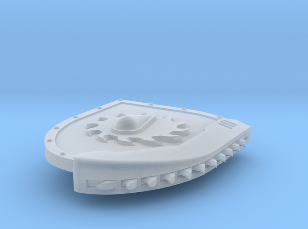 Right-handed Chainshield (Buzzsaw Droplet design) in Smooth Fine Detail Plastic: Small