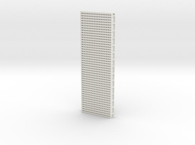 Steel Girder Bridge (HO Scale) in White Natural Versatile Plastic: 1:87 - HO