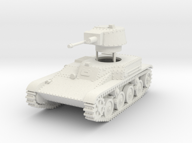 1/72 4TP (PZInz.140) Polish light tank in White Natural Versatile Plastic