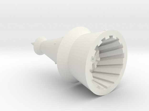 Omni Scale Monster Medium Death Probe MGL in White Natural Versatile Plastic