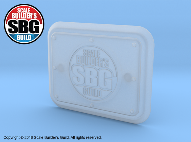 JK17020 2017 JK SBG tailgate detail in Smooth Fine Detail Plastic