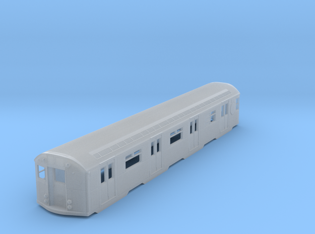 N Scale Budd R32 Subway Car Body Shell