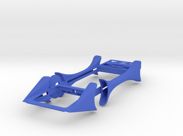 Jesus built my hotrod in Blue Processed Versatile Plastic