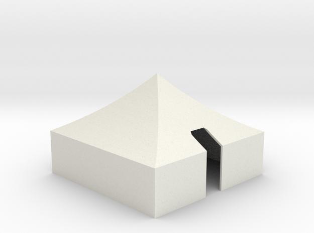 M-1934 Tent  in White Natural Versatile Plastic