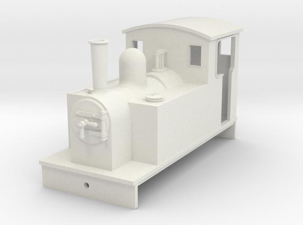 5.5 mm scale side tank loco 2  in White Natural Versatile Plastic