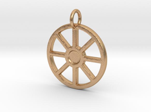 Urnfield Wagon Wheel in Natural Bronze