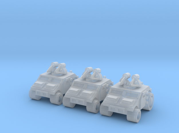 High Mobility Anti Air in Smoothest Fine Detail Plastic