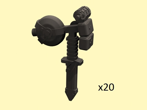 28mm infantry accessories