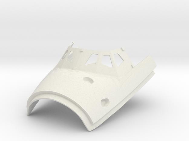 beanie cap base in White Natural Versatile Plastic