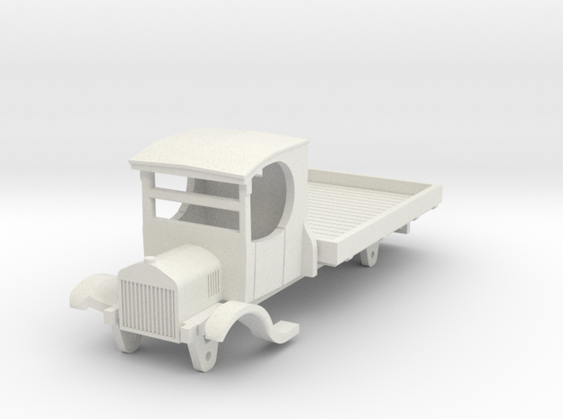 0-100-ford-lorry-1a in White Natural Versatile Plastic
