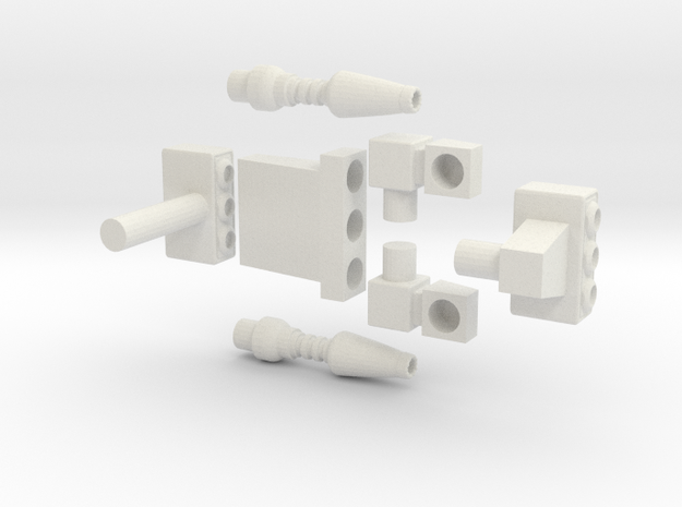 CW Trailbreaker Accessories in White Natural Versatile Plastic