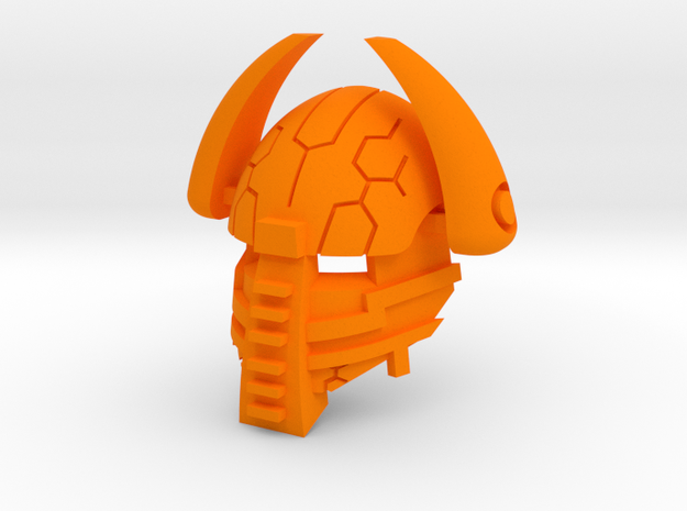Great Kapoi in Orange Processed Versatile Plastic