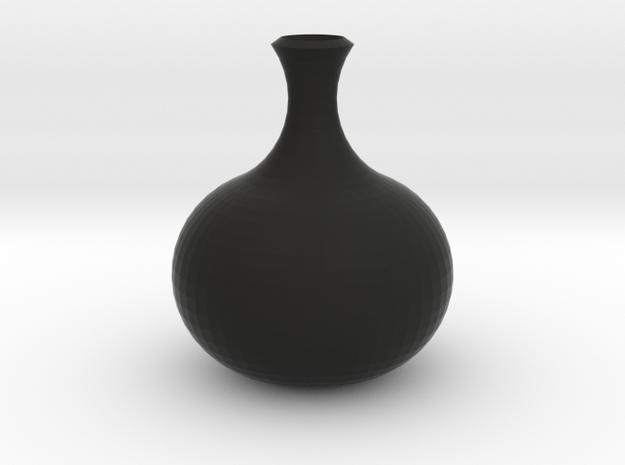 花瓶一.stl in Black Natural Versatile Plastic