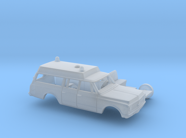 1/87 1971-72 Chevrolet Suburban Ambulance Kit