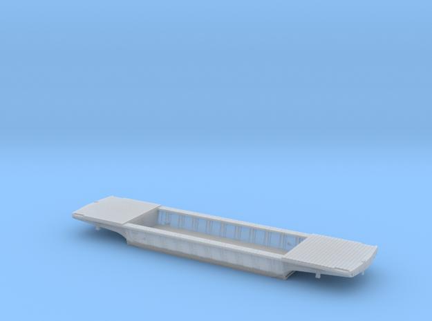PRR F25 Depressed Center Flatcar in HO w/decking