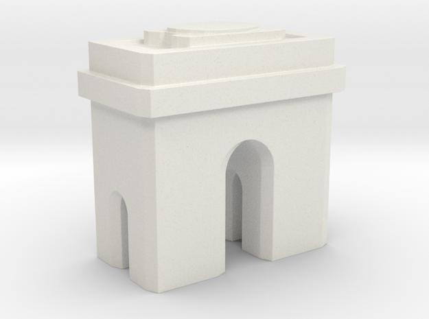 Arc de Triomphe - Paris (1:4000) in White Natural Versatile Plastic