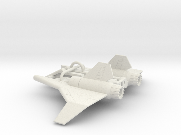 Ramjet wings for POTP Darkwing in White Natural Versatile Plastic