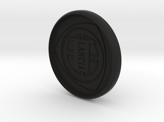 Lancia Delta 1 center cap Nabendeckel in Black Natural Versatile Plastic