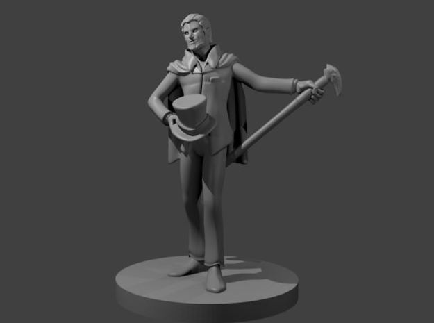 Human Charlatan in Smooth Fine Detail Plastic