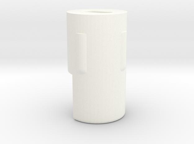 Koni Adjusting knob Nachstellknopf in White Processed Versatile Plastic